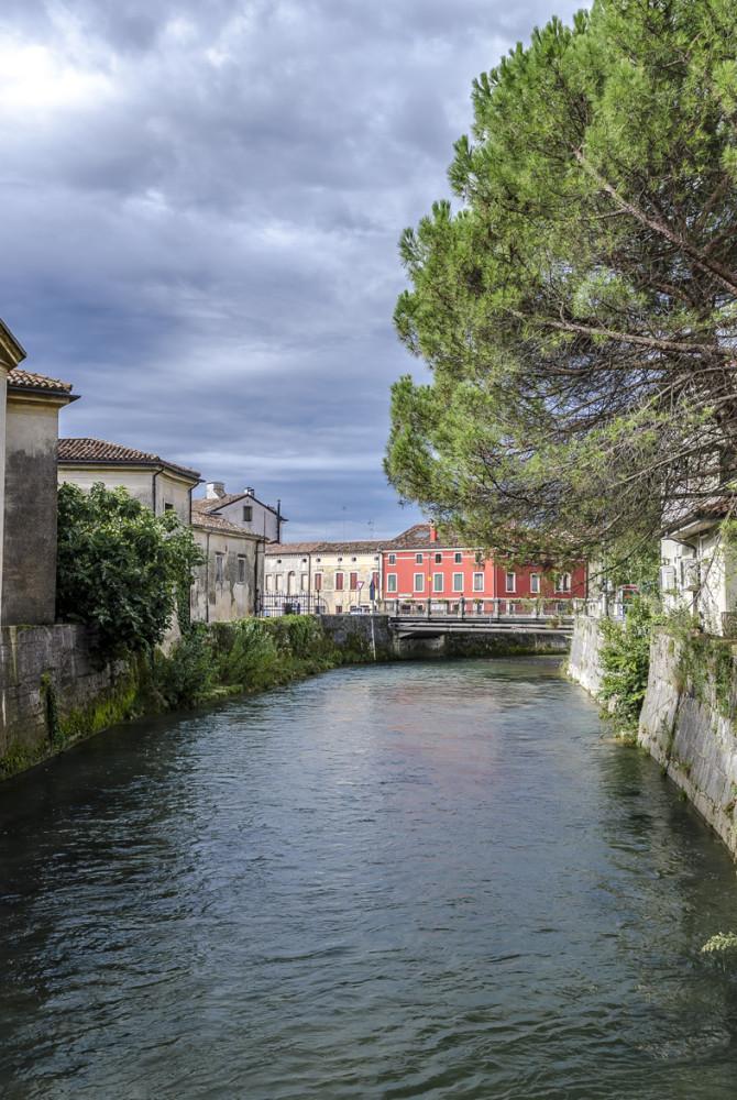 Ponte sul fiume Meschio